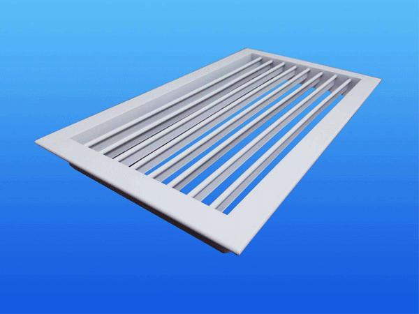 铝合金单层百叶风口